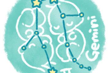 12星座物語③『ふたご座』は強い兄弟愛のもとに生まれた星座